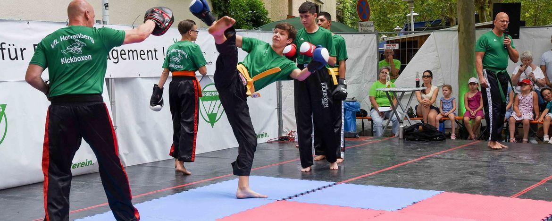 Willkommen bei der Abteilung Kampfkunst