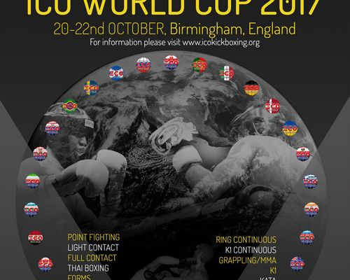 Worldcup Birmingham 2017 International Combat Organisation ( ICO )